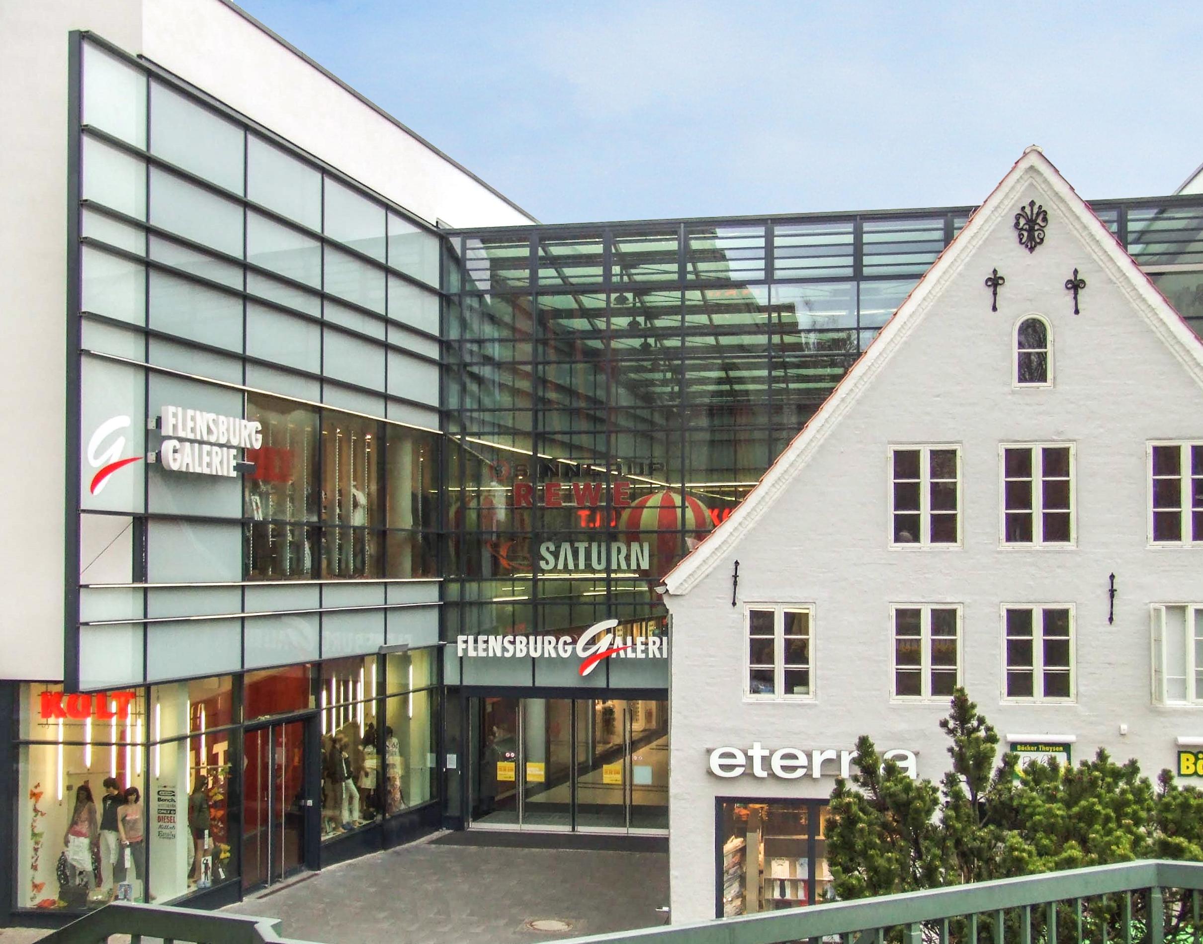 Intertec einkaufszentrum am s dermarkt flensburg - Architektur flensburg ...